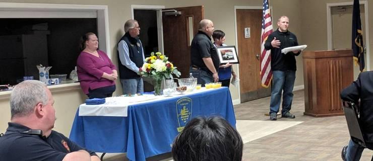Chief Jeff Ivers Retires